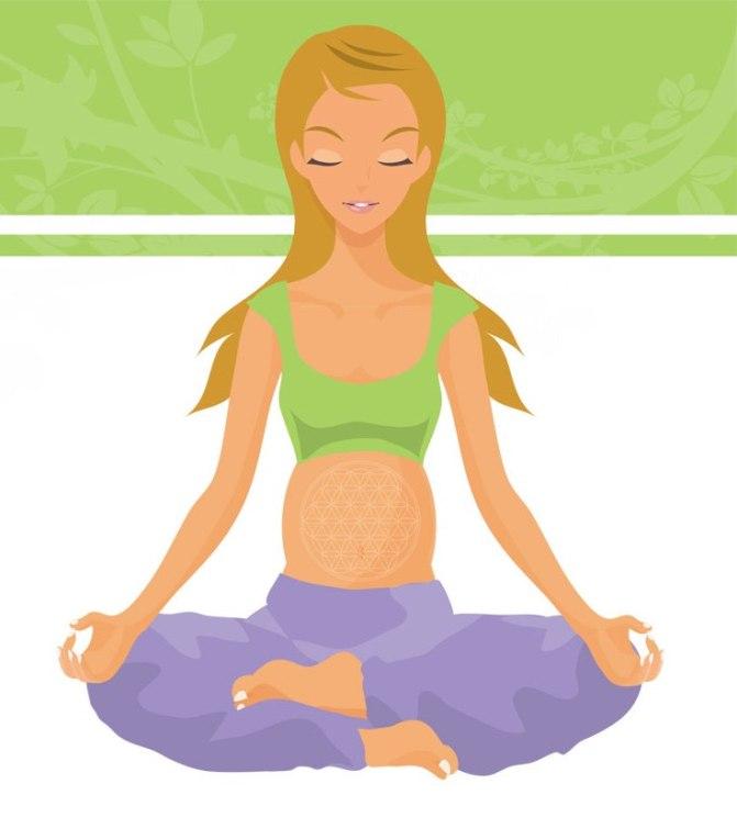 Yoga durante el embarazo