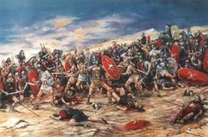 Espartaco, la rebelión de los esclavos.
