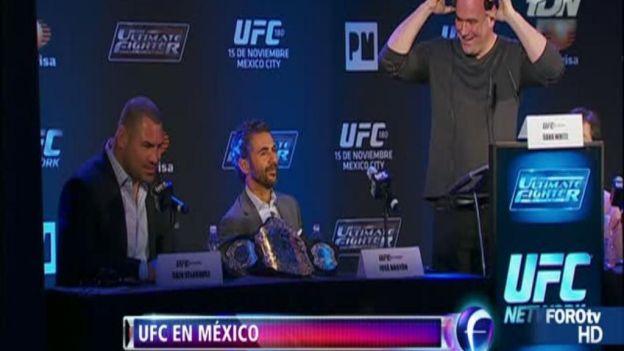 UFC llega a México