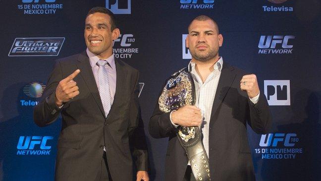 Primeros careos para UFC 188