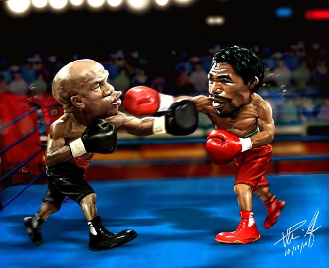Frente a frente Floyd y Manny