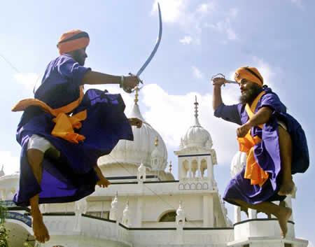 Gatka (arte marcial de la India).