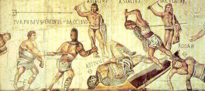 Peleas de Gladiadores, mas allá de la leyenda